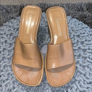Ealore Natural Leather Slides!